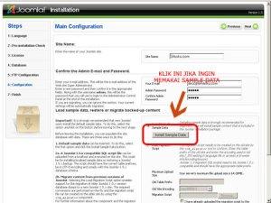 Pengturan info situs